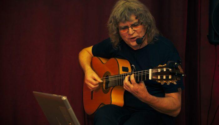 Steinbick Akustik Duo - Gerd Pilz Gesang und Gitarre